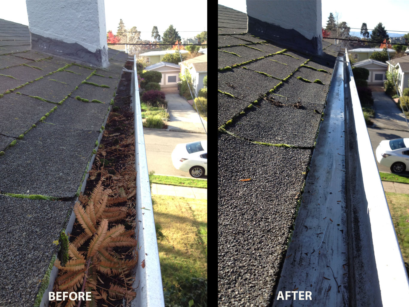 Gutter Cleaning - Sparking Clean Window Cleaners - Window ...